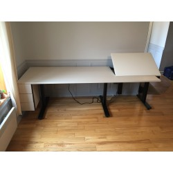 Sewing and embroidery table