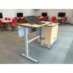Ergonomic teaching station