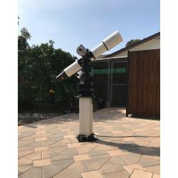 Height adjustable telescope