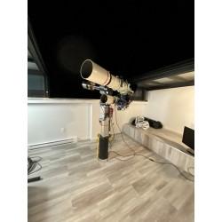 Adjustable telescope on...