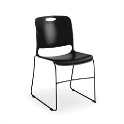 Seat and back : Black Frame : Black